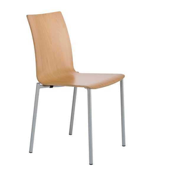 Chaise moderne en métal et stratifié - Pro's 7 - 15