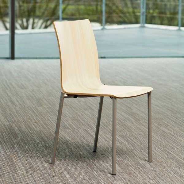 Chaise moderne en métal et stratifié - Pro's 15 - 4