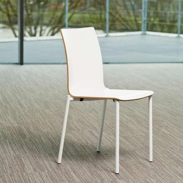 Chaise moderne en métal et stratifié - Pro's 24 - 5