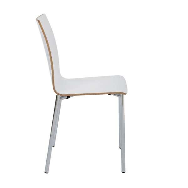Chaise moderne en métal et stratifié - Pro's 21 - 28