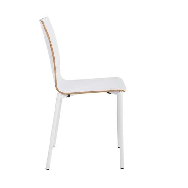 Chaise moderne en métal et stratifié - Pro's 22 - 29