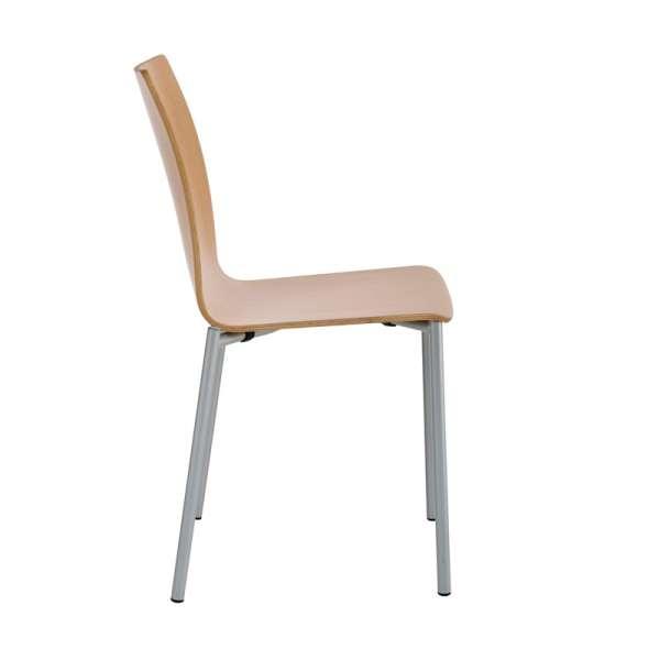 Chaise moderne en métal et stratifié - Pro's 8 - 16