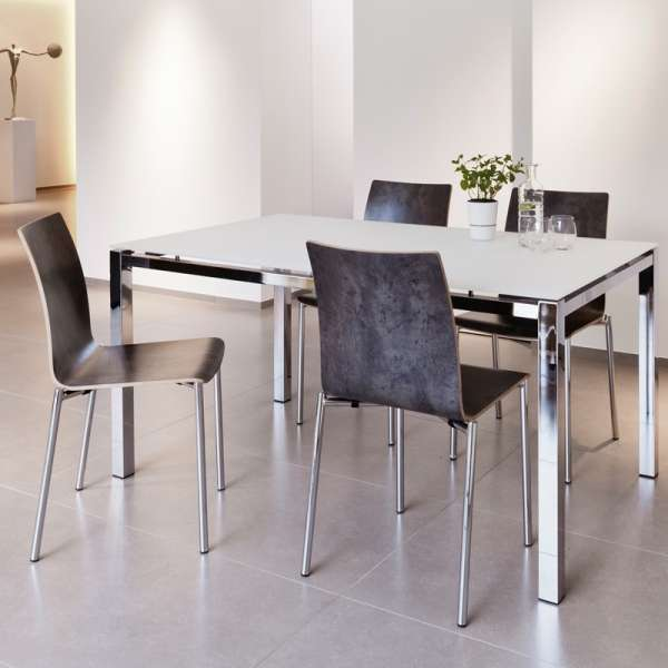 Chaise moderne en métal et stratifié - Pro's 29 - 2
