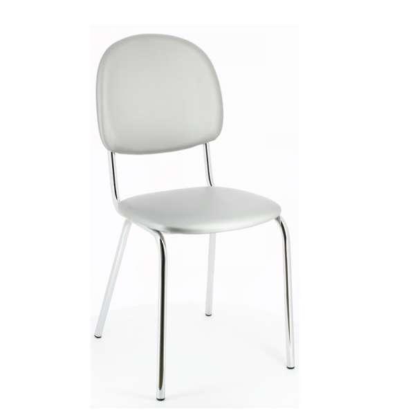 Chaise de cuisine en métal et synthétique - STR05 8 - 11