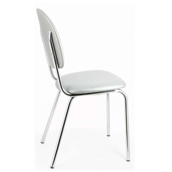 Chaise de cuisine en métal et synthétique - STR05 10 - 13