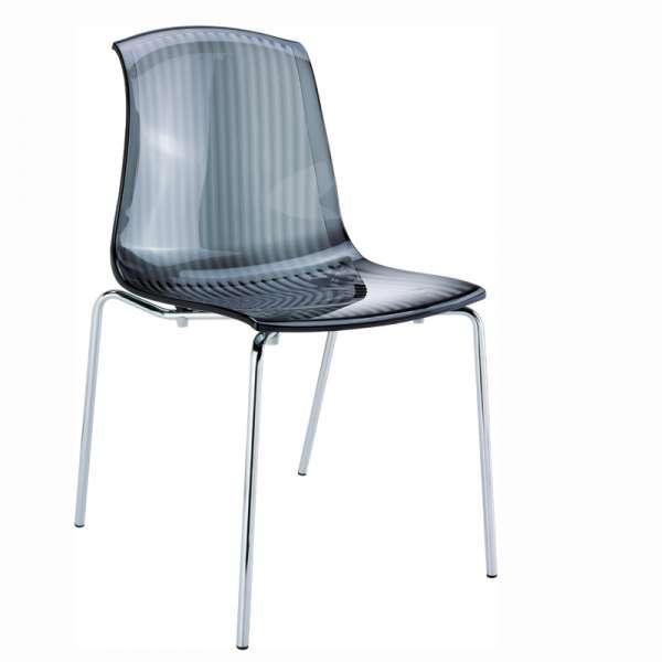 Chaise moderne en polycarbonate - Allegra - 4