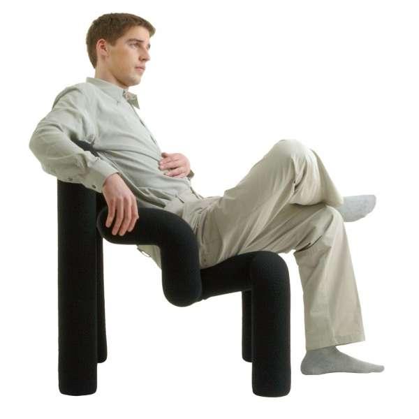 Fauteuil relax design ergonomique noir - Ekstrem Varier ®  - 16