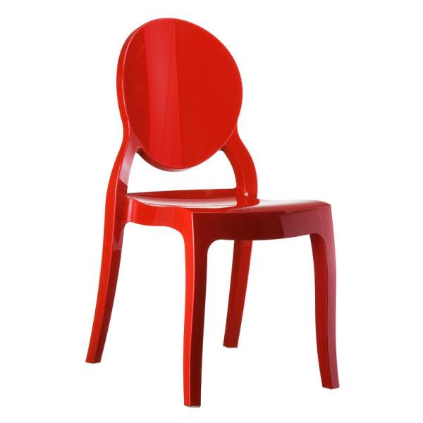 Chaise design Elizabeth Opaque en polycarbonate - 2