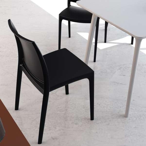 Chaise en plastique polypropylène - Maya - 7