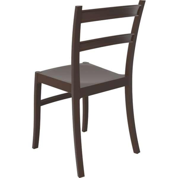 Chaise d'extérieur en plastique marron Tiffany - 15