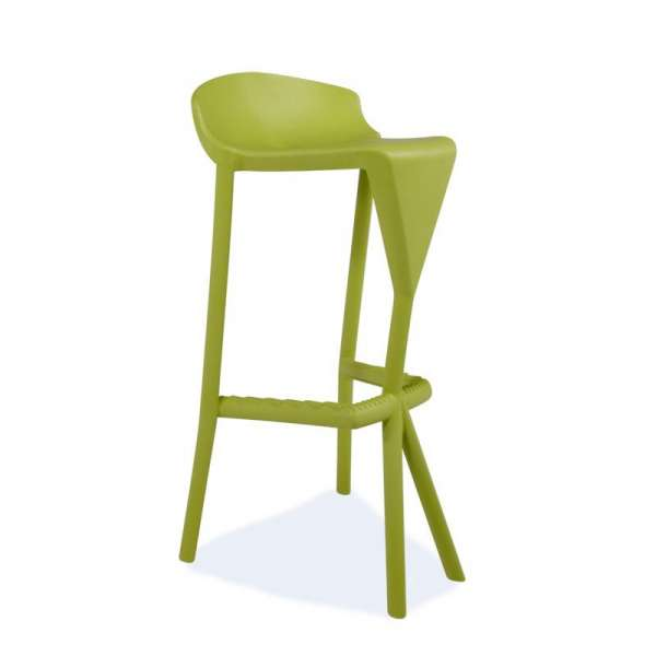 Tabouret vert design - Shiver - 15