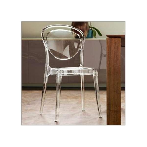 Chaise design en plexi Parisienne Calligaris® - 2