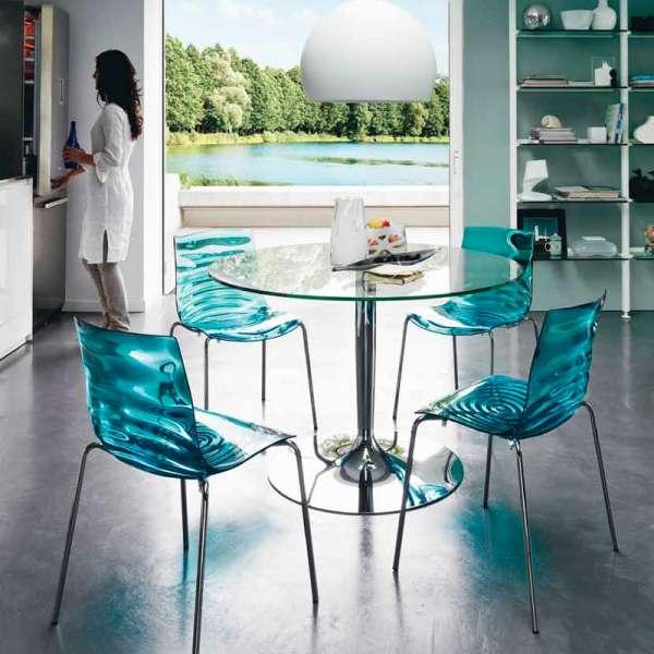 Chaise design en plexi Eau Calligaris® - 2
