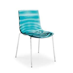 Chaise design en plexi Eau Calligaris®