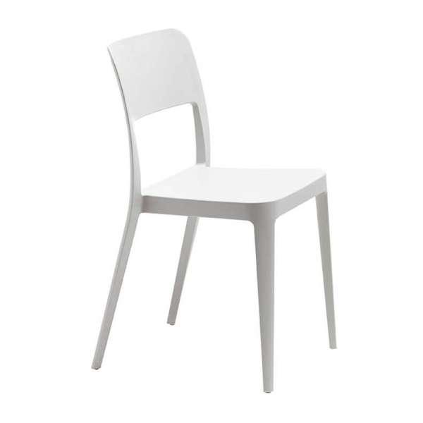 Chaise moderne blanche - Nené Midj® - 4