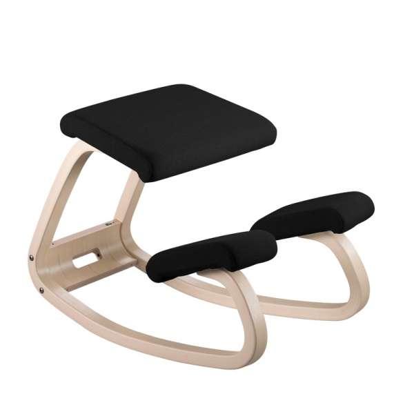 Siège assis genoux en tissu noir - Variable Varier® - 23