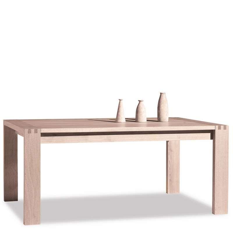 Table de salle manger en ch ne massif conception e 4 - Table salle a manger chene massif ...