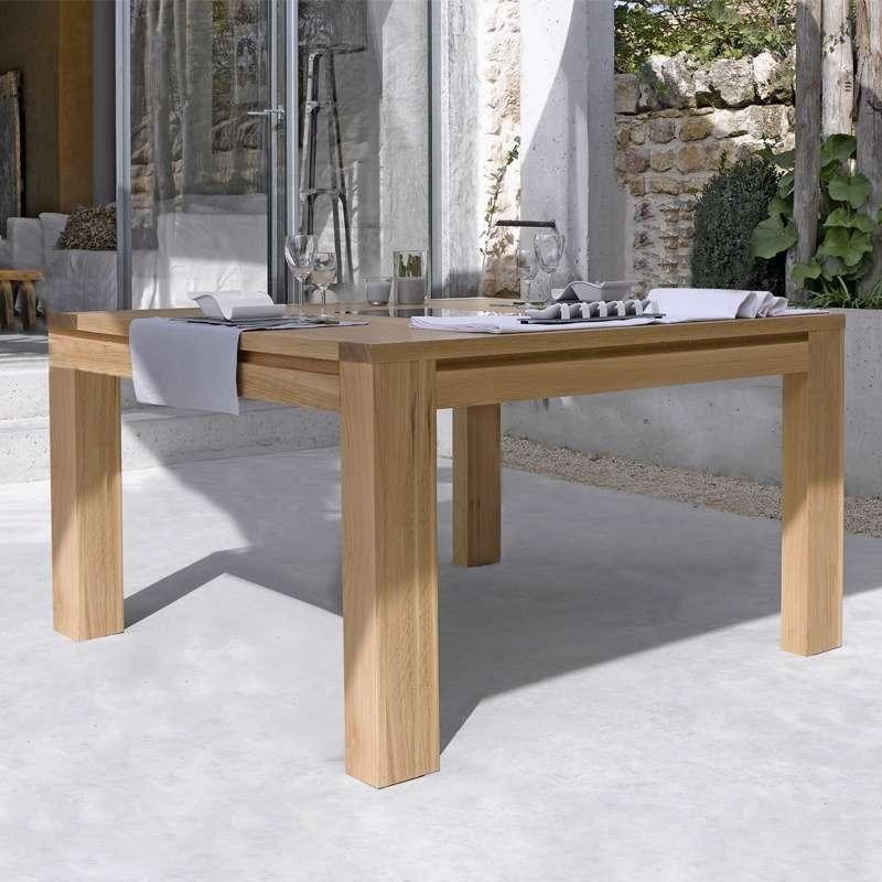 Table Chene Massif Moderne.Table De Salle A Manger En Chene Massif Conception G