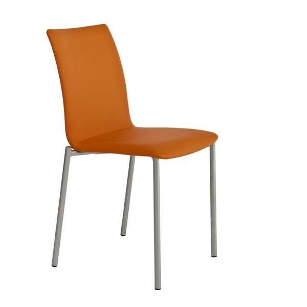 Chaise moderne en métal et tissu - Pro'G - 1