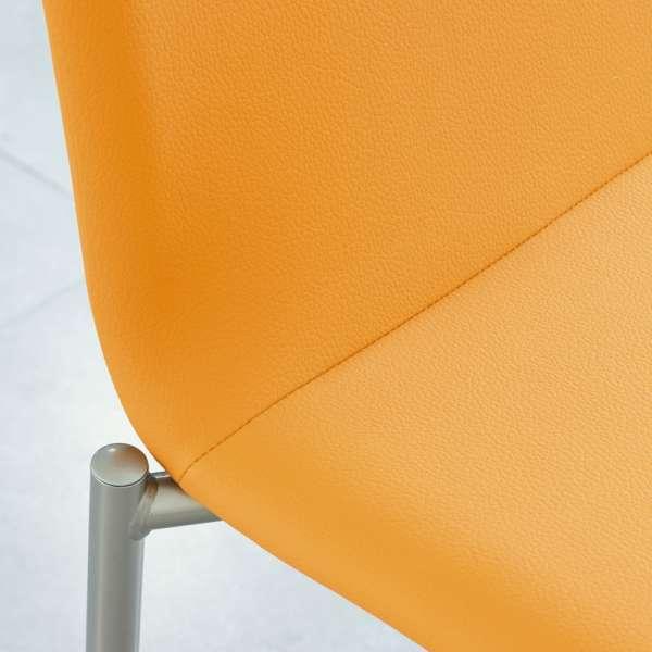 Chaise moderne en métal et tissu - Pro'G 5 - 5