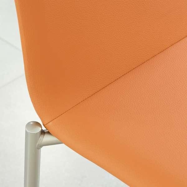 Chaise moderne en métal et tissu - Pro'G 6 - 6