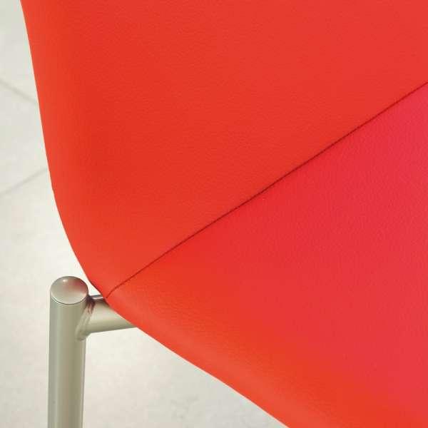 Chaise moderne en métal et tissu - Pro'G 7 - 7