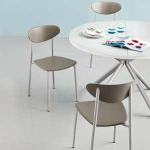 Chaise de cuisine en polypropylène et métal - Graffiti 5