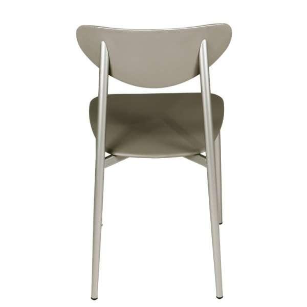 Chaise en polypropylène grège - Graffiti - 8