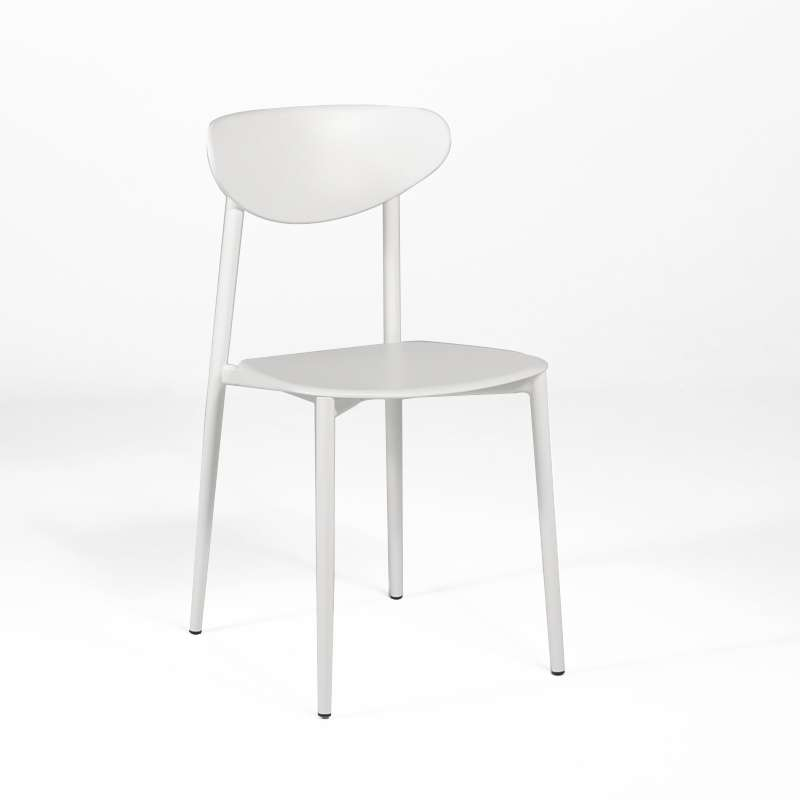 chaise de cuisine blanches