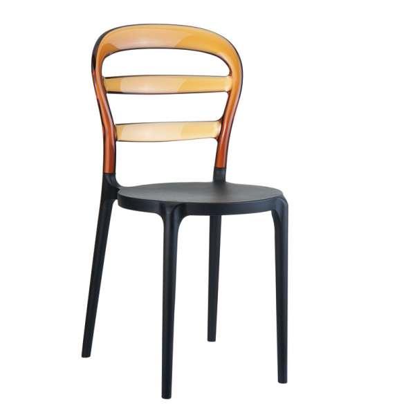 Chaise design en plexi et polypropylène - Miss Bibi 5 - 19