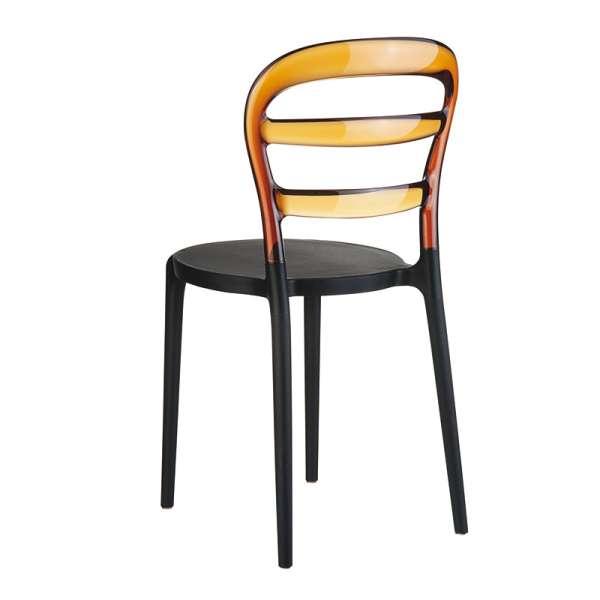 Chaise design en plexi et polypropylène - Miss Bibi 6 - 20