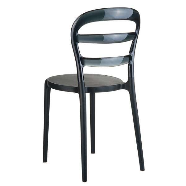 Chaise design en plexi et polypropylène - Miss Bibi 1 - 15