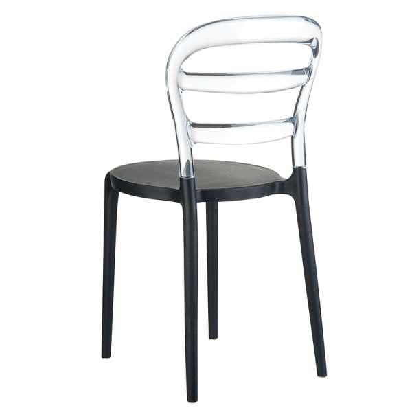 Chaise design en plexi et polypropylène - Miss Bibi 9 - 23