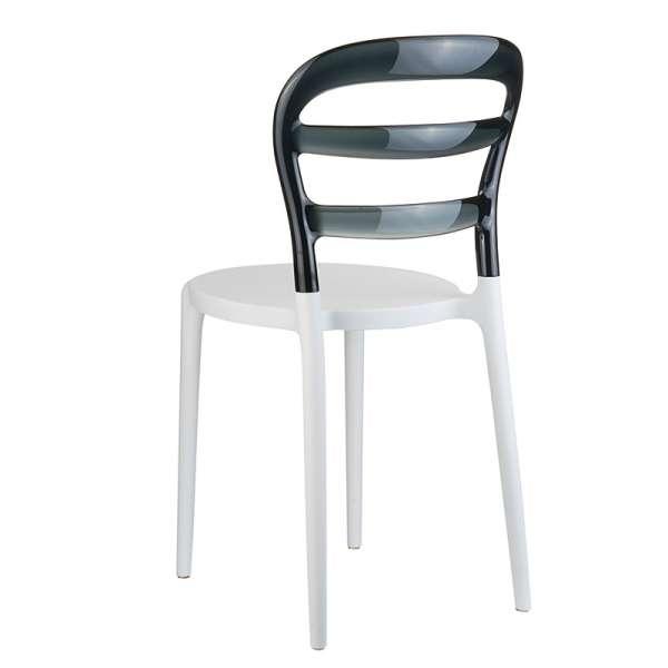 Chaise design en plexi et polypropylène - Miss Bibi 3 - 17