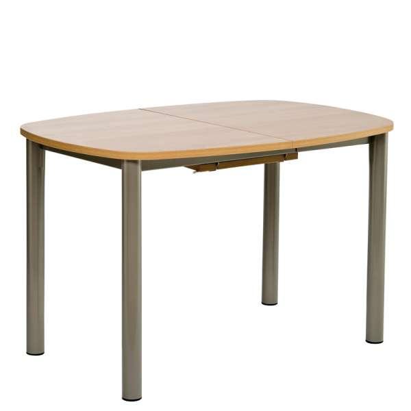 Table de cuisine en stratifié avec allonge - Lustra 3 - 5