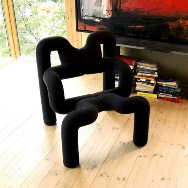 Fauteuil de relaxation design ergonomique noir - Ekstrem Varier®  - 18