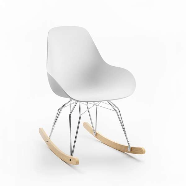 Fauteuil design rocking chair - Diamond Dimple Closed Kubikoff®