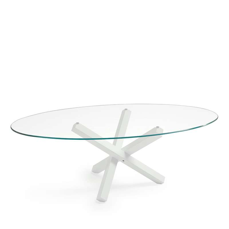 Table A Manger Ovale En Verre