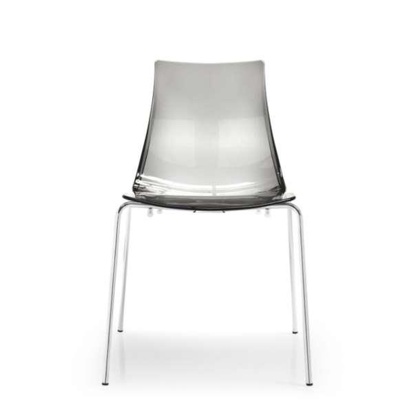 Chaise design en métal et plexi - Led 7 - 7
