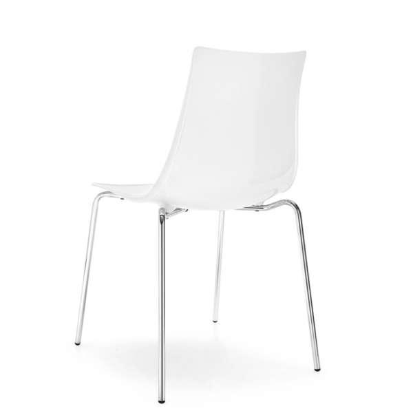 Chaise design en métal et plexi - Led 11 - 11