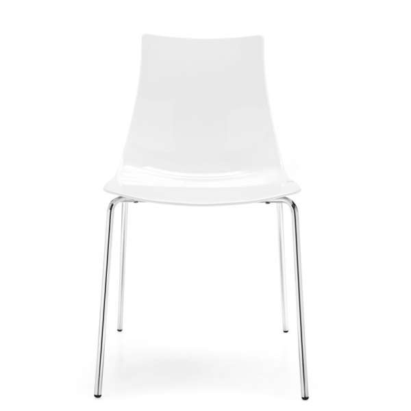 Chaise design en métal et plexi - Led 12 - 12