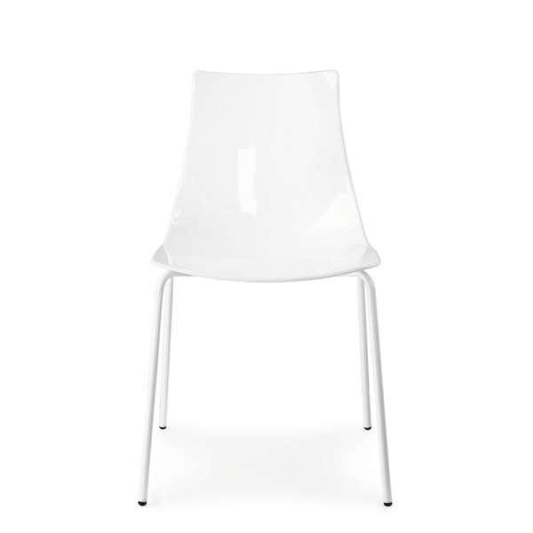 Chaise design en métal et plexi - Led 10 - 10