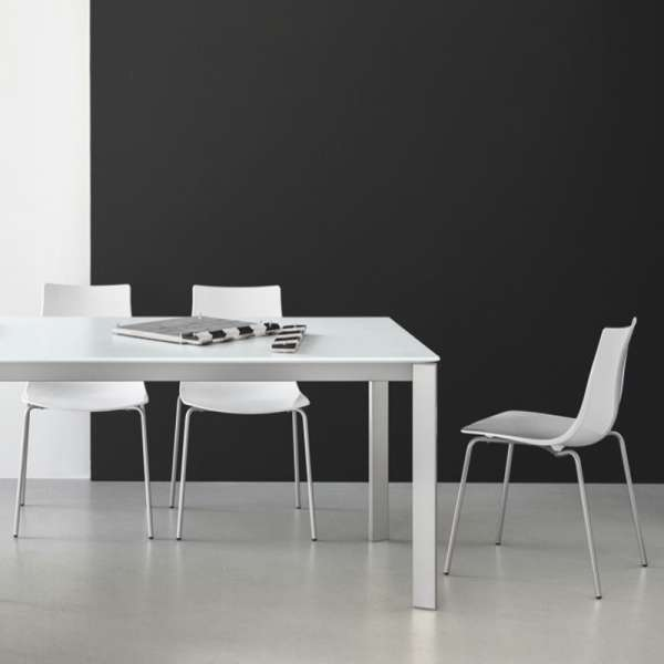 Chaise design en métal et plexi - Led 3 - 3