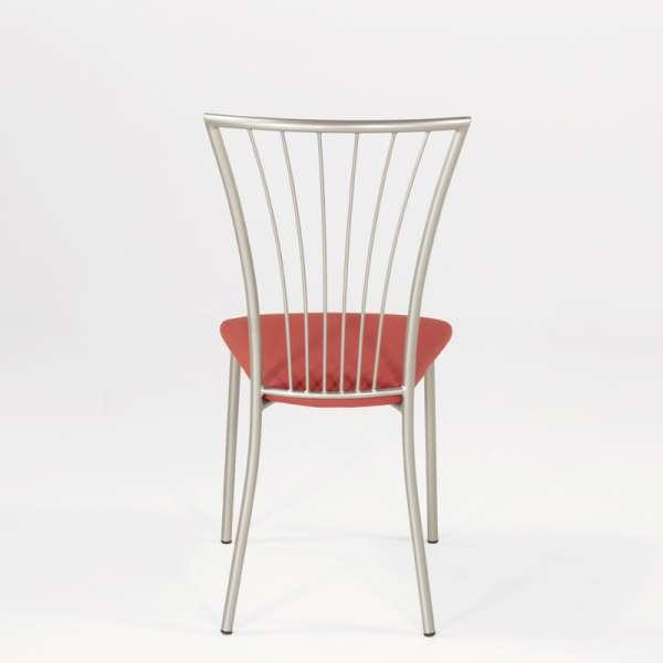 Chaise de cuisine en vinyl et métal - Jana 10 - 12