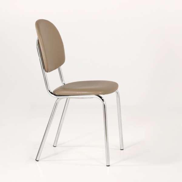 Chaise de cuisine en métal et synthétique - STR05 3 - 6