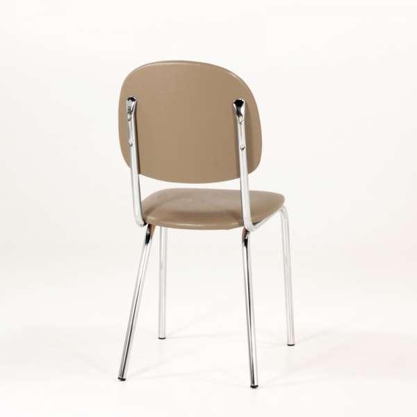 Chaise de cuisine en métal et synthétique - STR05 5 - 8