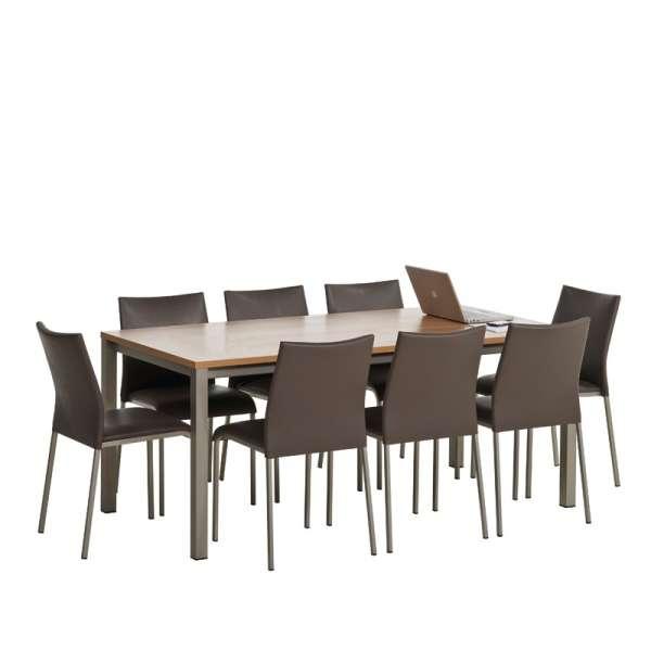 Table de cuisine rectangulaire en stratifié - Vienna 3 - 4