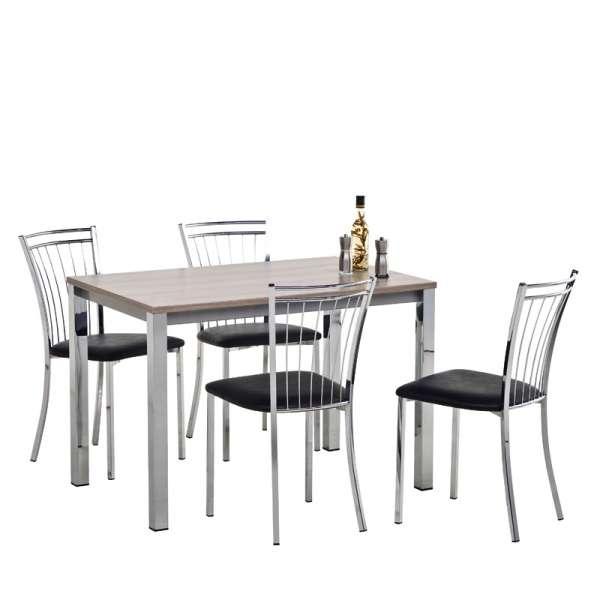 Table de cuisine rectangulaire en stratifié - Vienna 4 - 5