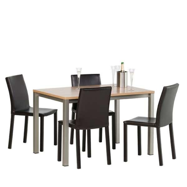 Table de cuisine rectangulaire en stratifié - Vienna 5 - 6