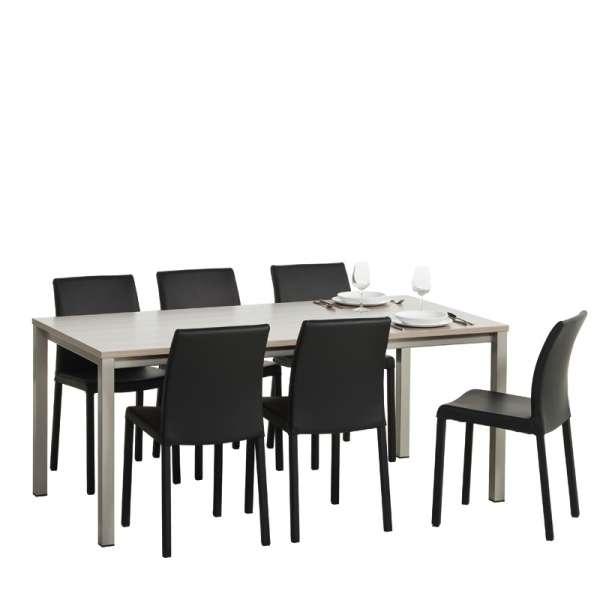 Table de cuisine rectangulaire en stratifié - Vienna 6 - 7